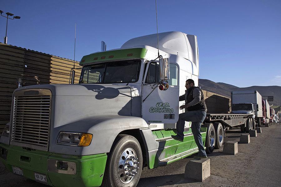 全美現貨車司機荒 未來十年短缺90萬人