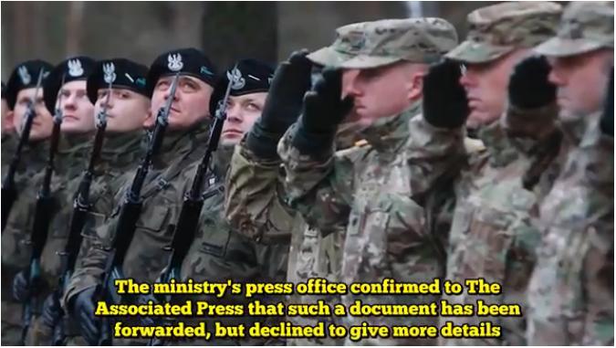 波蘭尋求美國永久駐軍 以阻嚇俄羅斯