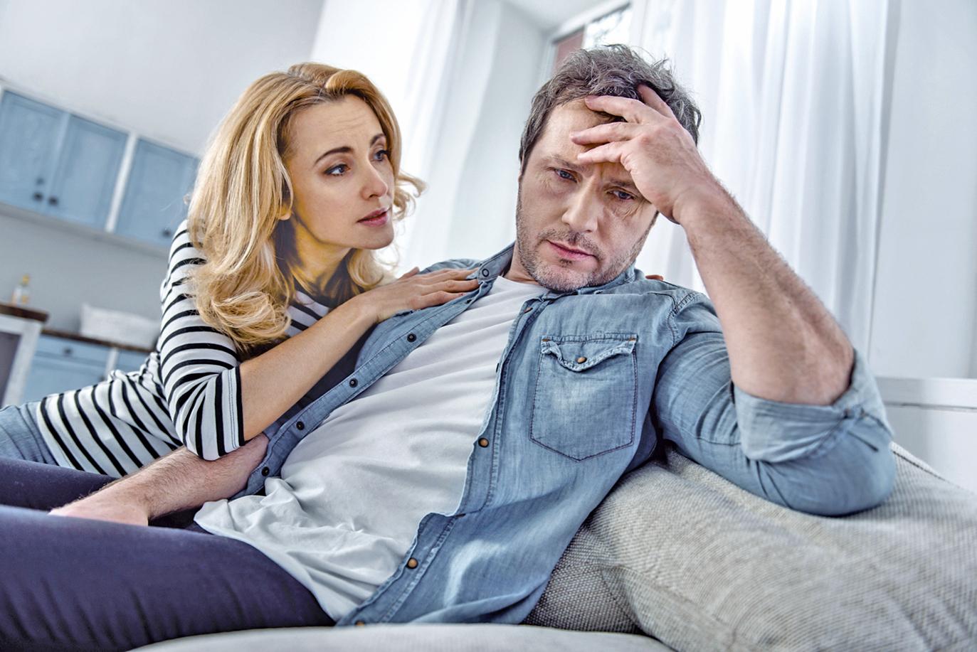包容體諒不責備 夫妻共度失業危機