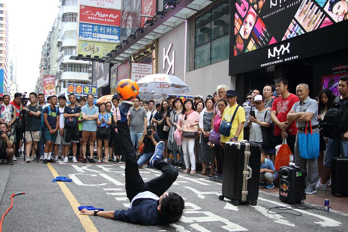 旺角街頭藝人支持規管聲浪
