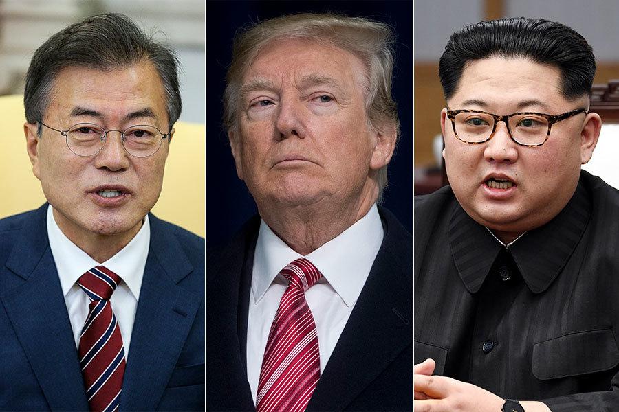 傳文在寅或加入特金會 三國聯袂宣佈韓戰結束