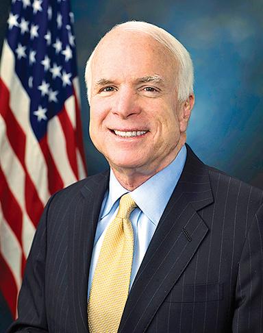 約翰.麥凱恩  美國聯邦參議院軍事委員會共和黨籍主席