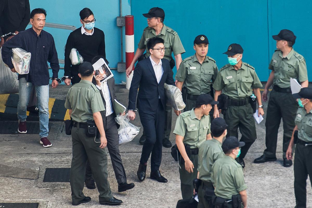 梁天琦暴動罪被判囚六年