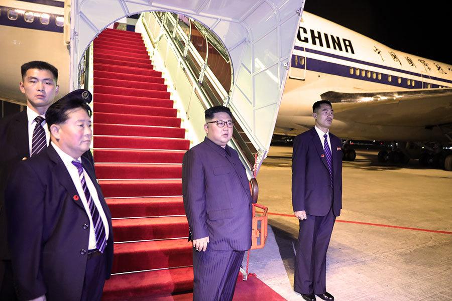 金正恩乘中共專機回國 是否經停北京?