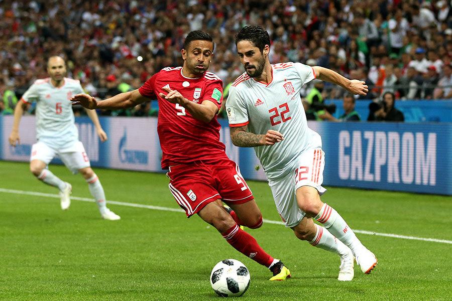 波斯鐵騎小負鬥牛士軍團 伊朗0:1負西班牙