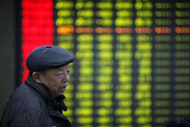中共喊話失效 2800個股下跌 滬指創近2年新低