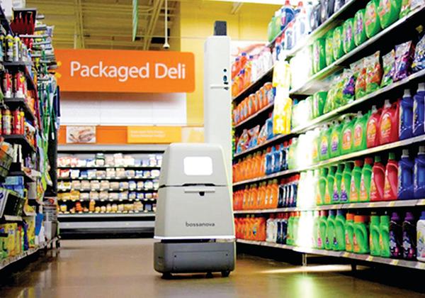 機器人售貨員 將令超市庫管失業?