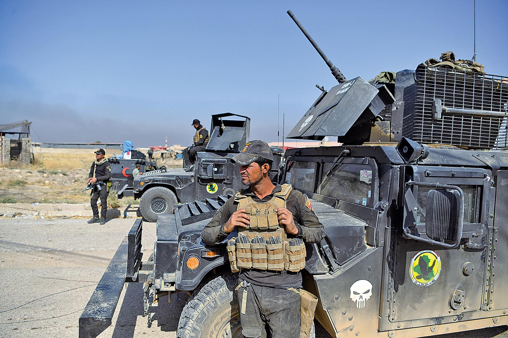 伊拉克空襲炸死四十五名IS份子