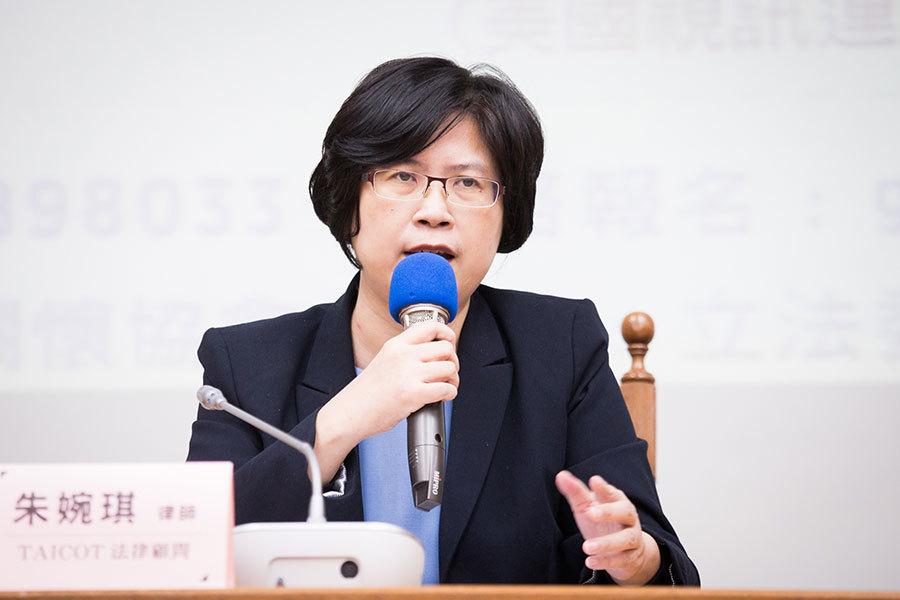 人權律師:台美應聯手反制中共