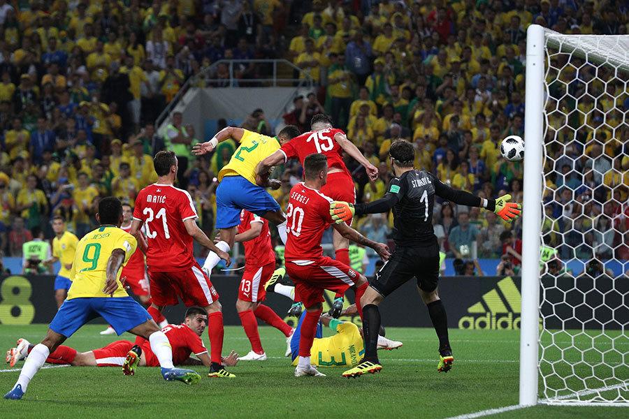 E組第三輪 巴西2:0勝塞爾維亞 小組第一晉級
