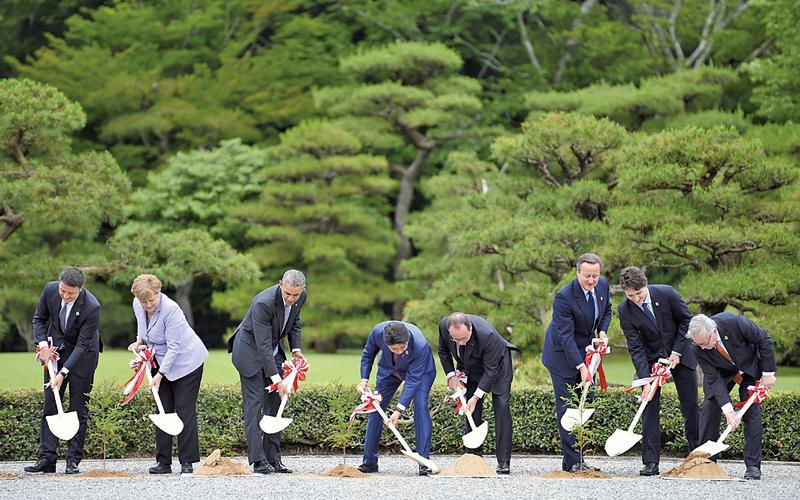 G7峰會聚焦全球經濟