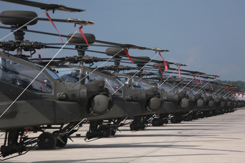阿帕奇11日全戰備成軍典禮 傳美派員來台觀禮
