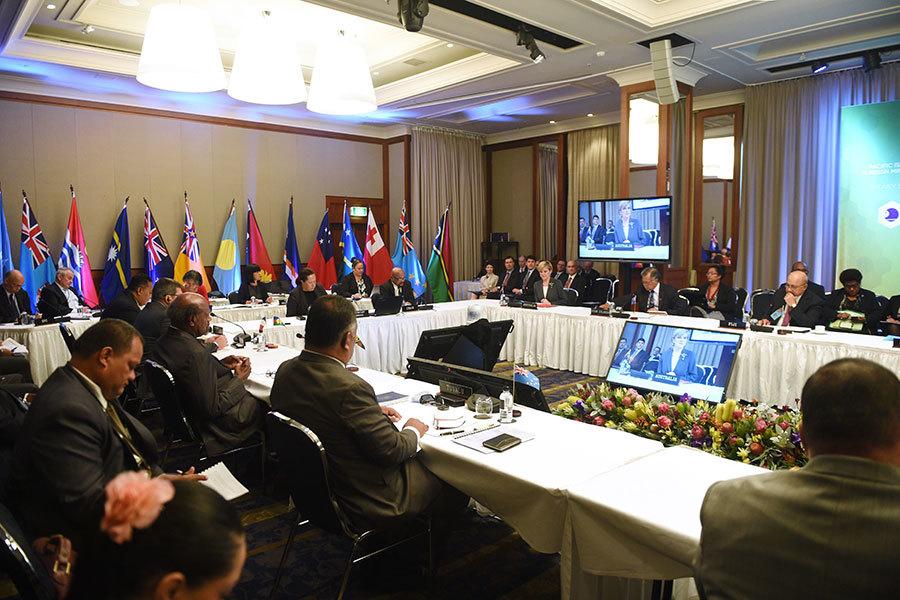 阻中俄滲透太平洋島國 澳紐推新安全協議