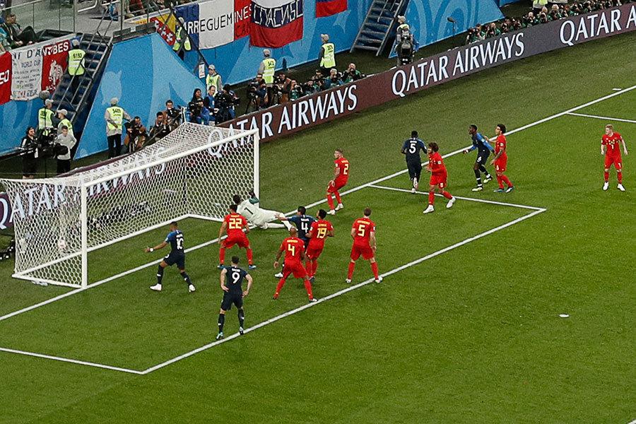 法國1:0勝比利時 時隔12年再度晉級決賽