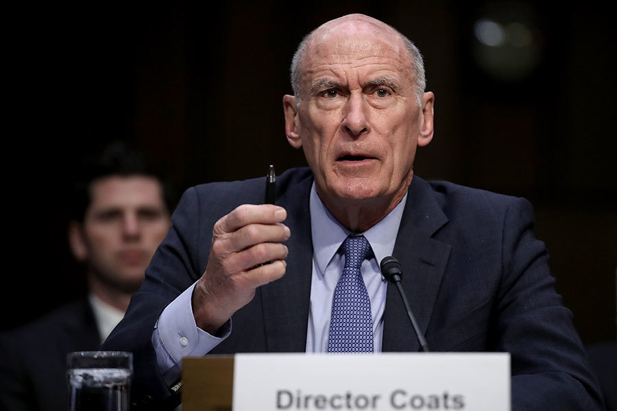 美情報總監:基建遭中俄網攻威脅加大