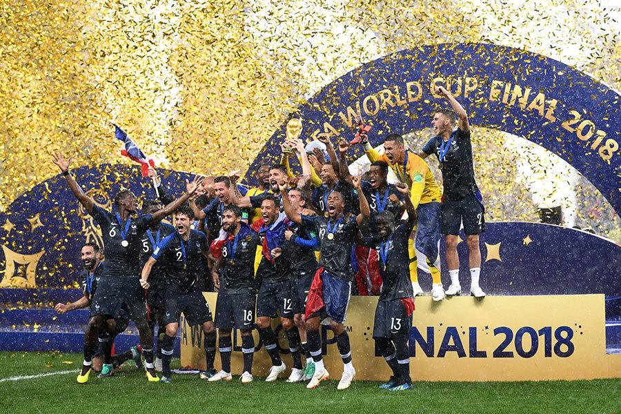 2018世界盃法國奪冠