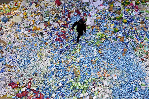 中國產藥品質量問題 開始侵蝕全球