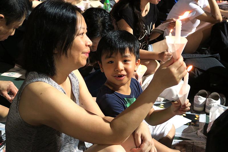 【六四.維園】香港支聯會「六四」二十七周年燭光悼念集會(二)