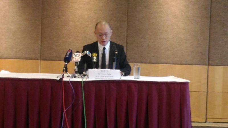 FFG獨立委員會調查成員之一,代表律師曾憲文。 (王文君/大紀元)