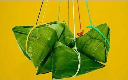 粽子:端午佳節吃粽子。(網絡圖片)
