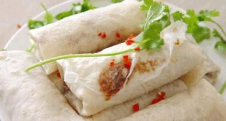 薄餅:在溫州地區,端午節家家還有吃薄餅的習俗。(網絡圖片)