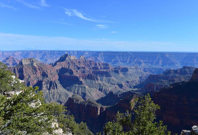 組圖:遊大峽谷北緣 體會大自然寂靜之美