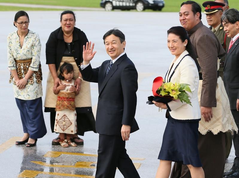 組圖:日本雅子妃兩年來首次出訪